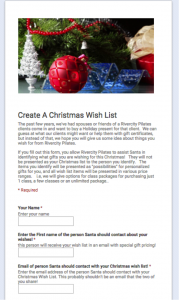 Fill Out Your Christmas Wish List By Clicking On The Picture And Filling  Out The Form!  Christmas Wish List Form