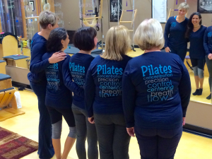 Our Pilates Instuctor-Trainees in Pilates Principles Tees!