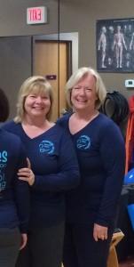 Nancy  and Shelley - teacher trainees