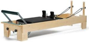 picture of pilates reformer.