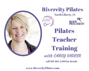 Pilates Teacher Training starts this fall!