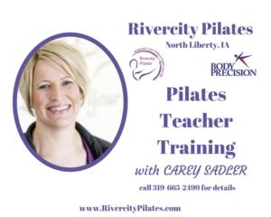 Pilates Teacher Training starts this fall!
