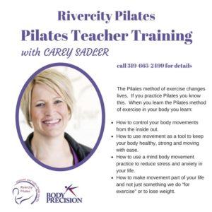 5 Reasons to Join the Pilates Teacher Training Program at Rivercity Pilates