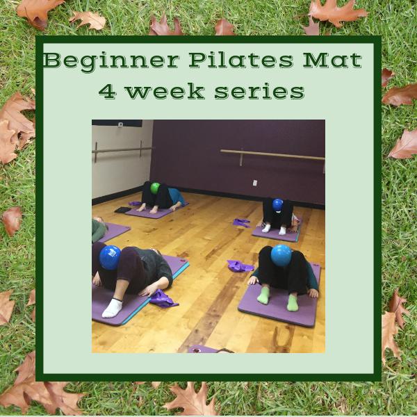 4 Week Beginner Pilates Mat Series