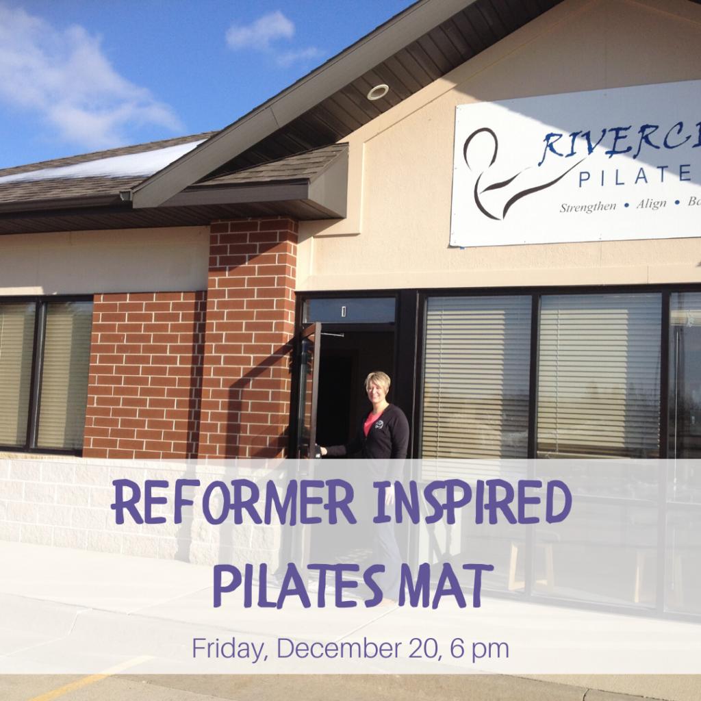 Free Class at Rivercity Pilates December 20