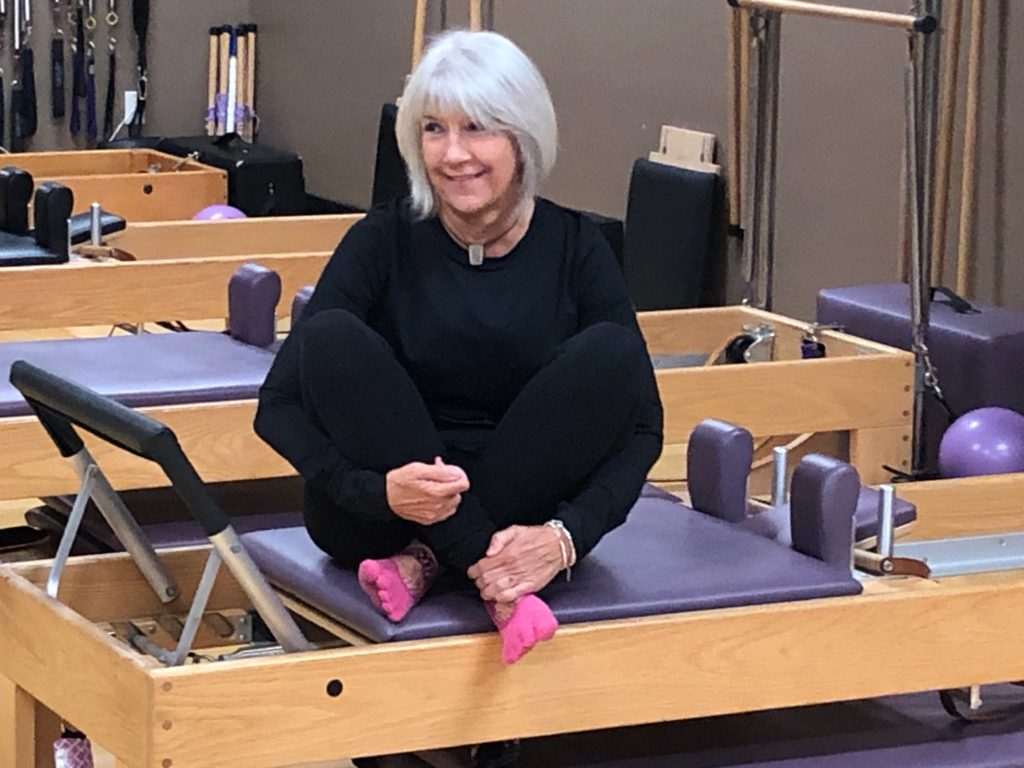 Jane McKenrick, instructor at Rivercity Pilates from Tiffin Iowa.