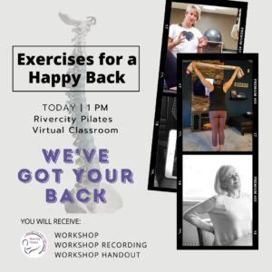 Exercises for a Happy Back!